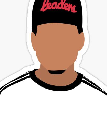 Chance The Rapper Minimalistic Cartoon Sticker