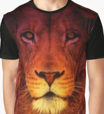 Lion Man Graphic T-Shirt