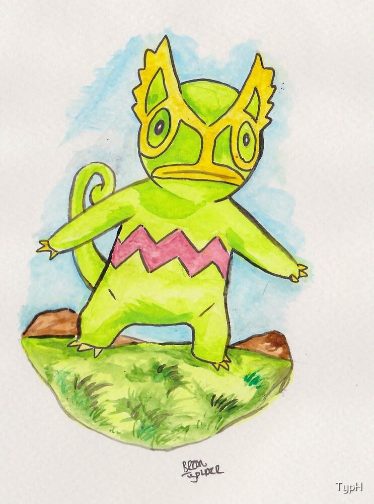 Pokemon: Kecleon by TypH