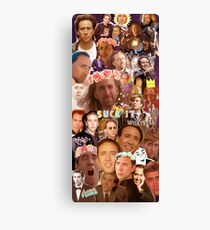 Nic Cage Collage Canvas Print