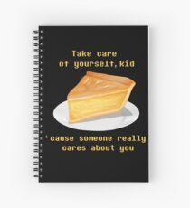 Take care - UNDERTALE Spiral Notebook