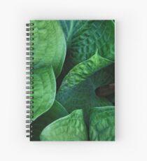 Green Etchings Spiral Notebook