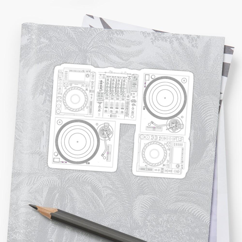 DJ Equipment Gear by djhypnotixx