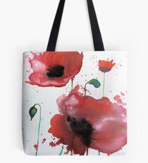April Poppies 2 Tote Bag