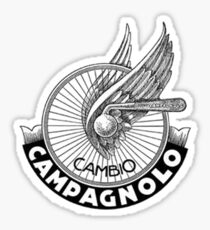 fixed gear campi Sticker