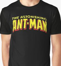 The Astonishing Ant-Man - Classic Title - Clean Graphic T-Shirt