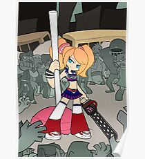 PSG Lollipop chainsaw Poster