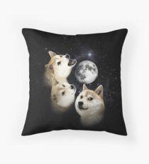 The Shibe collection Throw Pillow
