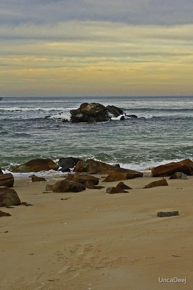 Steels Beach Afternoon by UncaDeej