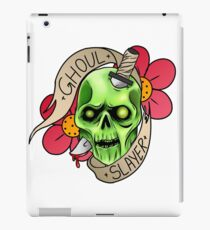 Ghoul Slayer iPad Case/Skin