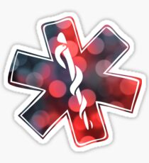 star of life bokeh Sticker