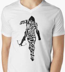 Hatred Must be Tempered by Discipline Men's V-Neck T-Shirt