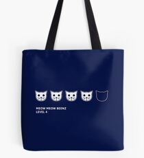 Meow Meow Beenz Level 4 Tote Bag