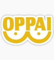 Oppai One Punch Sticker