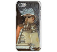 Giuseppe Arcimboldo - The Librarian 1562  iPhone Case/Skin
