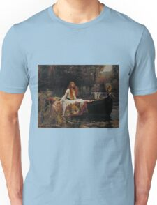 John William Waterhouse - The Lady of Shalott 1888 . Woman Portrait  Unisex T-Shirt