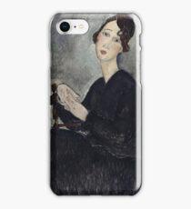 Amedeo Modigliani - Portrait Of Dedie Odette Hayden iPhone Case/Skin