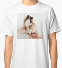 """""""Cat with Flower"""" by Sara Moon Classic T-Shirt"""