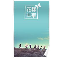 BTS HYYH Butterfly Poster Poster