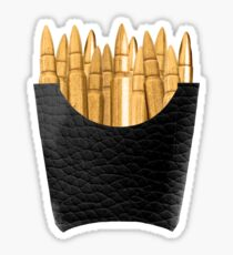Bullet Fries Sticker