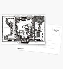 Sherlock's Home Postcards