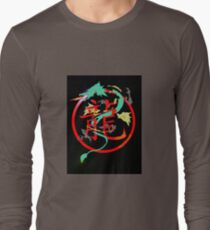 Chimera, with searing eyes Long Sleeve T-Shirt