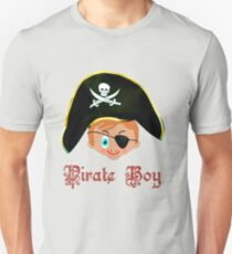 Toon Boy 14 Pirate Boy T-shirt design T-Shirt