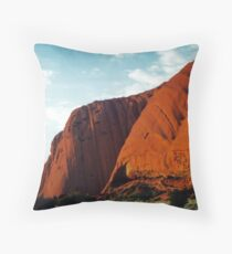 Ayres Rock (Uluru). Northern Territory, Australia. Throw Pillow