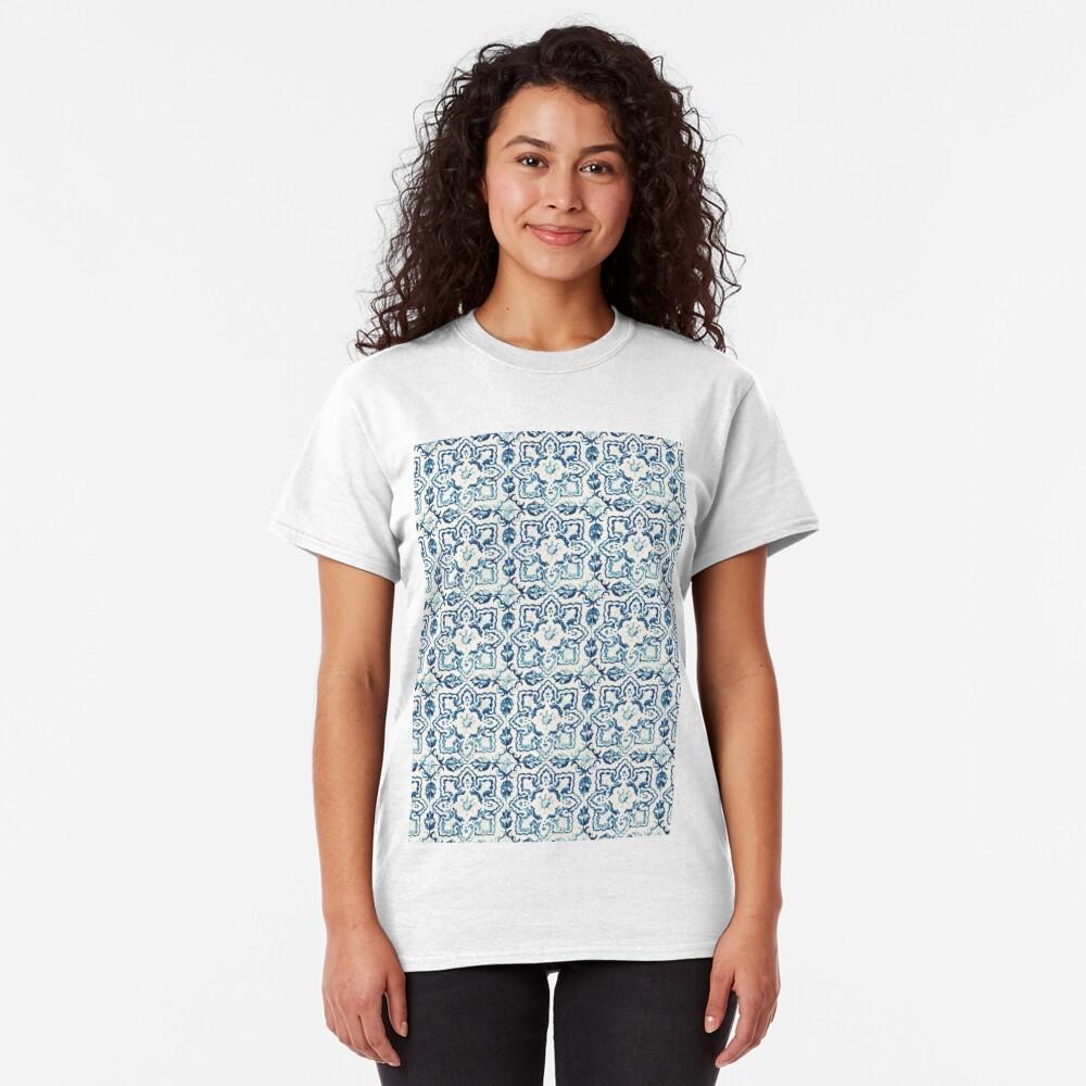 Portuguese Azulejos VIII Classic T-Shirt