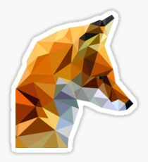 LP Fox Sticker