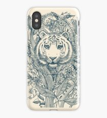 Tiger Tangle iPhone Case