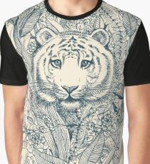 Tiger Tangle Graphic T-Shirt