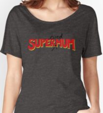 Super(tired)Mum Women's Relaxed Fit T-Shirt