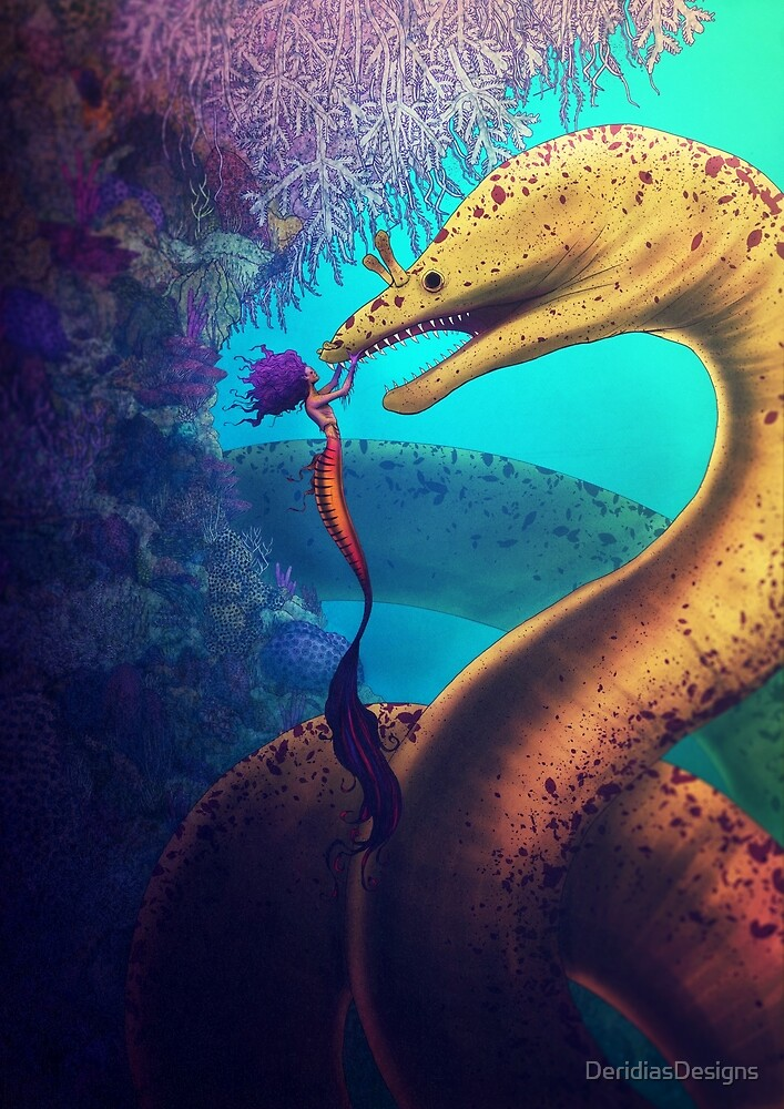 My Old Friend (Digital Illustration) by DeridiasDesigns