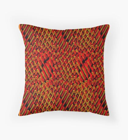 HONEYCOMB-STICKY-SWEET Throw Pillow