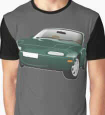 Mazda MX-5 Miata green Graphic T-Shirt