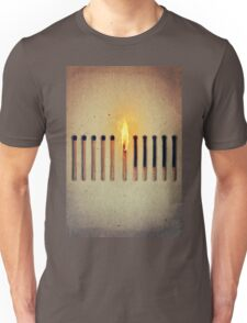 burning alone 2 Unisex T-Shirt