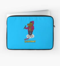 FLIGHT OF THE CONCHORDS - THE HIPHOPOPOTAMUS AND THE RHYMENOCEROS - THE HIPHOPOPOTAMUS VERSION 2 Laptop Sleeve