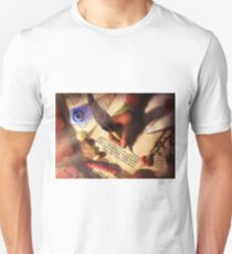 The Writer (Digital Illustration) - Rotated T-Shirt