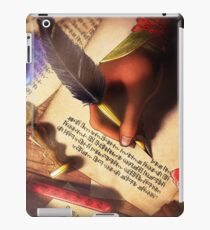 The Writer (Digital Illustration) - Rotated iPad Case/Skin