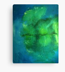 Attenborough reflections Canvas Print