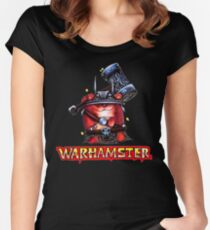 WarHamster! Women's Fitted Scoop T-Shirt