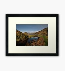 Wastwater and Wasdale Head Framed Print