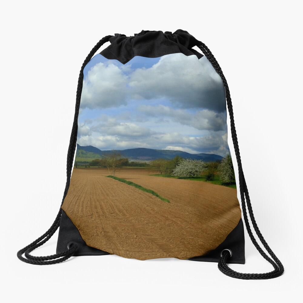 Rural scenery Drawstring Bag