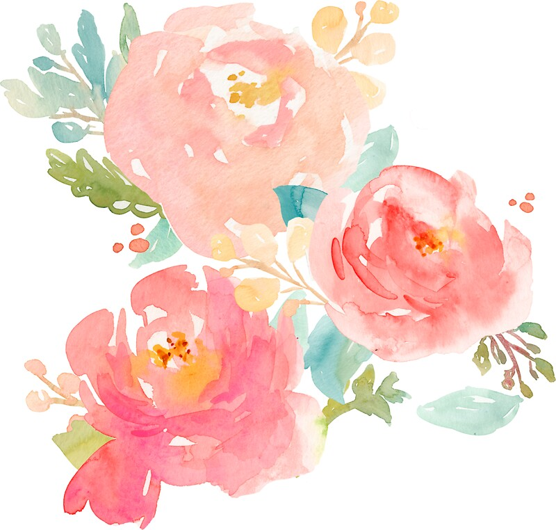 Quot Peonies Watercolor Bouquet Quot Stickers By Junkydotcom