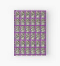 purple dancing yogini Hardcover Journal