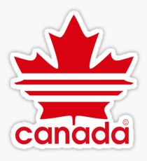Canada Sport Maple Leaf Sticker