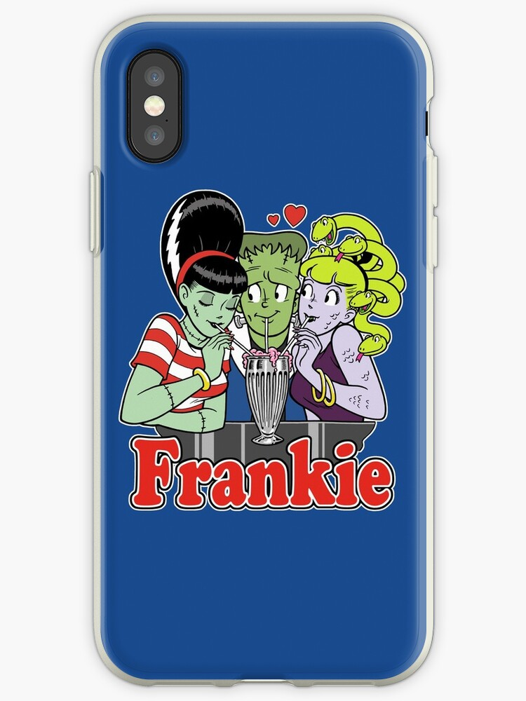quality design 4ecac abfbe 'I Love Frankie!' iPhone Case by MINION-FACTORY