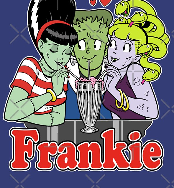 I Love Frankie! by MINION-FACTORY