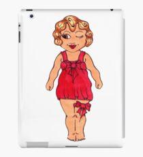 Winking Kewpie Carnival Doll iPad Case/Skin